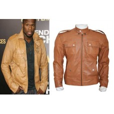 50 Cent Lisardo Leather Jacket