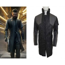 Adam Jensen Deus Ex Mankind Divided Leather Coat