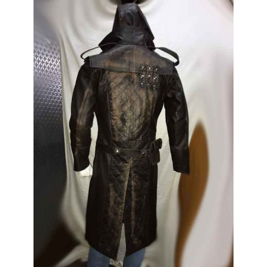 Assassins Creed Syndicate Jacob Frye S Leather Costume Coat