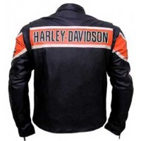 Harley Davidson Genuine Leather Jacket Victoria Lane Style Motorcycle Top