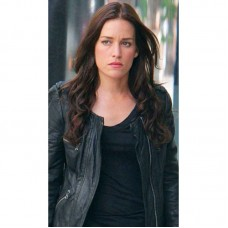 Covert Affairs USA Network TV series Leather Jacket