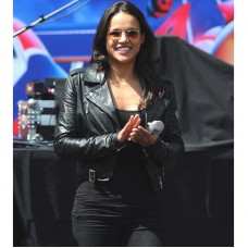 Fast and Furious 7 Trailer Michelle Rodriguez Jacket