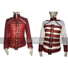Freddie Mercury Concert Military Women Motorcycle Jacket