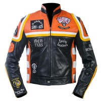 New Men's Harley Davidson Marlboro Man Leather Jacket
