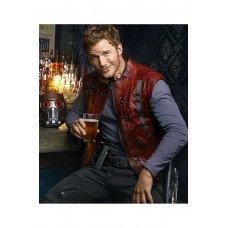 Guardians of the Galaxy Chris Pratt Faux Vest