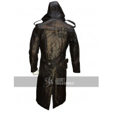 Assassins Creed Syndicate Jacob Frye's Leather Costume Coat