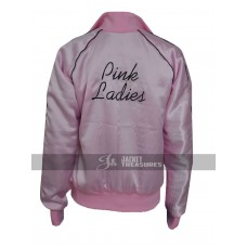 Grease 2 Michelle Pfeiffer Pink Ladies Women Reversible Jacket