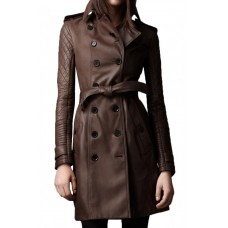 Kate Beckett Castle Stana Katic Leather Coat