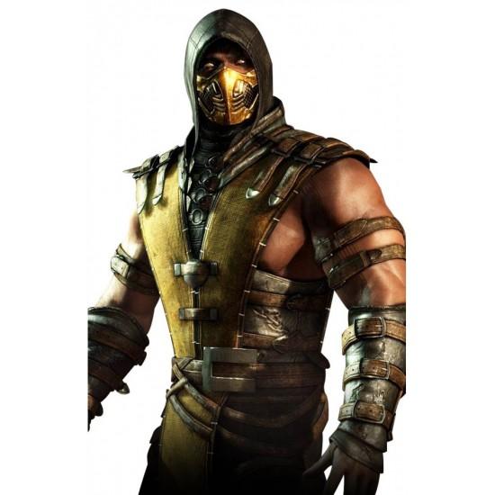 Mortal Kombat X Scorpion Hoodie Vest