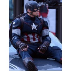 Avengers 2 Age of Ultron Costume Captain America Chris Evans Jacket