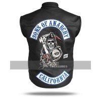 Sons Of Anarchy Reaper Vest Jax Teller Samcro