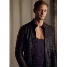 Alexander Skarsgard True Blood Season 4 Black Jacket