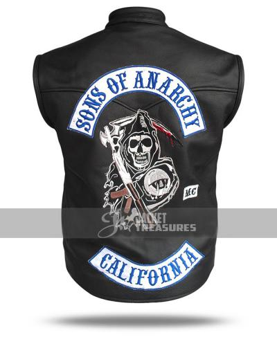 Sons Of Anarchy Reaper Vest Jax Teller Samcro