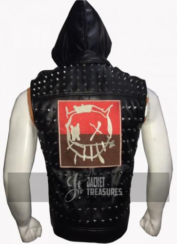 Watch Dogs 2 Wrench Dedsec Leather Vest